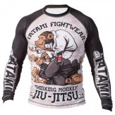 "Tatami ""Thinker Monkey"" Long Sleeve Rash Guard"